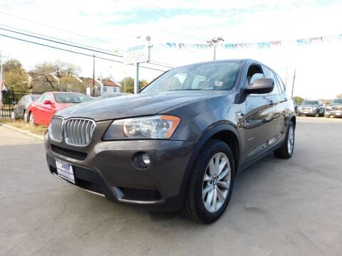 2014 BMW X3 for sale at AMD AUTO in San Antonio TX