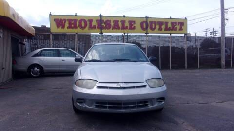2004 Chevrolet Cavalier for sale at LONG BROTHERS CAR COMPANY in Cleveland OH