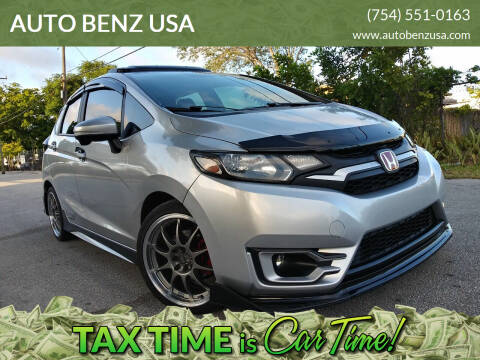 2015 Honda Fit for sale at AUTO BENZ USA in Fort Lauderdale FL