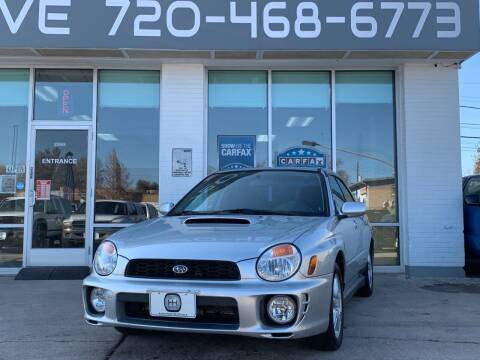 2002 Subaru Impreza for sale at Shift Automotive in Denver CO