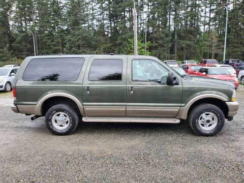 2003 Ford Excursion for sale at WILSON MOTORS in Spanaway WA