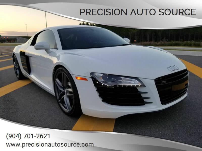 2012 Audi R8 for sale at Precision Auto Source in Jacksonville FL