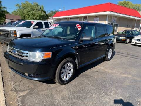 2010 Ford Flex for sale at THE PATRIOT AUTO GROUP LLC in Elkhart IN