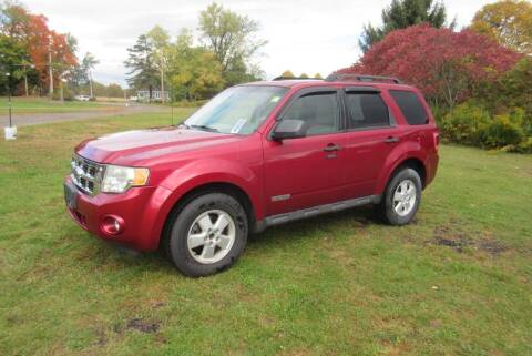 2008 Ford Escape for sale at Clearwater Motor Car in Jamestown NY
