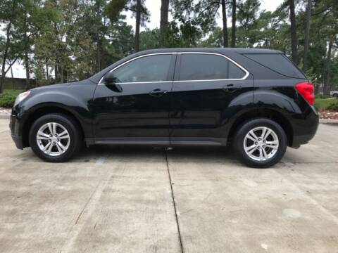 2012 Chevrolet Equinox for sale at ALL AMERICAN FINANCE AND AUTO in Houston TX