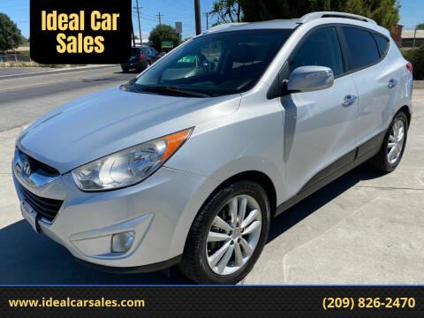 2012 Hyundai Tucson for sale at Ideal Car Sales in Los Banos CA