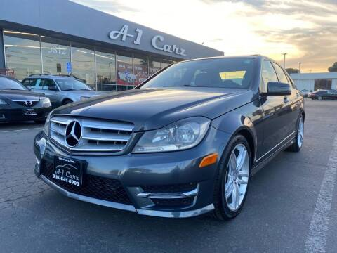 2013 Mercedes-Benz C-Class for sale at A1 Carz, Inc in Sacramento CA