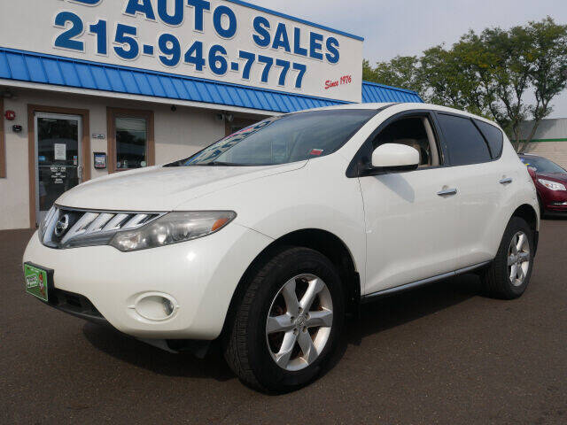 2009 Nissan Murano for sale at B & D Auto Sales Inc. in Fairless Hills PA
