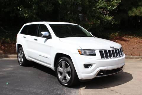 2014 Jeep Grand Cherokee for sale at El Patron Trucks in Norcross GA