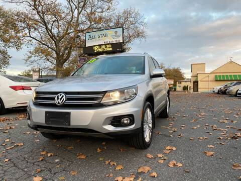 2013 Volkswagen Tiguan for sale at All Star Auto Sales and Service LLC in Allentown PA