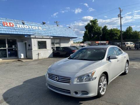 2014 Nissan Maxima for sale at RD Motors, Inc in Charlotte NC
