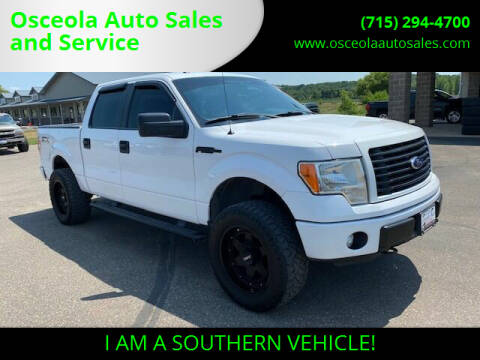 2014 Ford F-150 for sale at Osceola Auto Sales and Service in Osceola WI