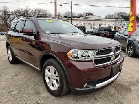 2012 Dodge Durango for sale at Porcelli Auto Sales in West Warwick RI