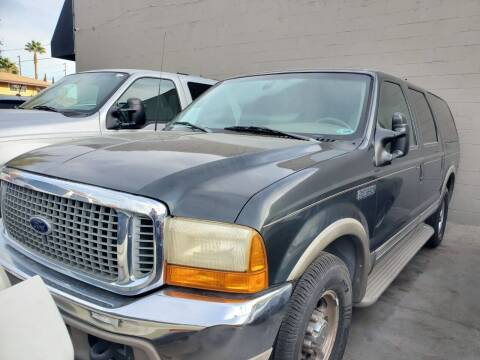 2000 Ford Excursion for sale at McHenry Auto Sales in Modesto CA