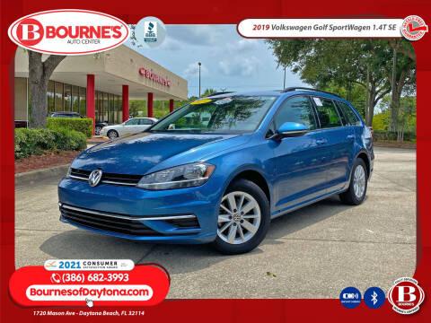 2019 Volkswagen Golf SportWagen for sale at Bourne's Auto Center in Daytona Beach FL