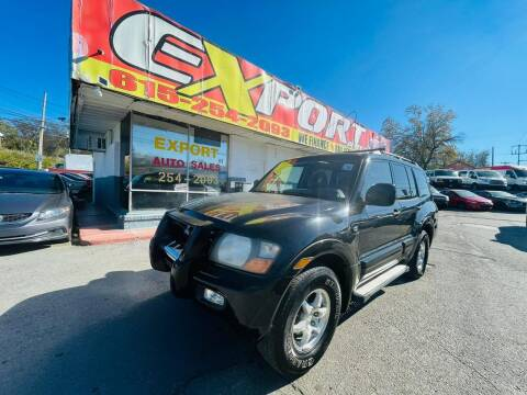 2002 Mitsubishi Montero for sale at EXPORT AUTO SALES, INC. in Nashville TN