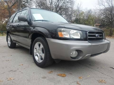 2004 Subaru Forester for sale at Thornhill Motor Company in Lake Worth TX