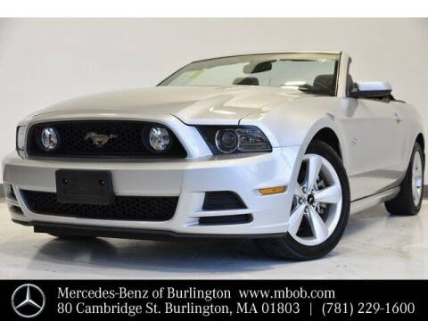2014 Ford Mustang for sale at Mercedes Benz of Burlington in Burlington MA