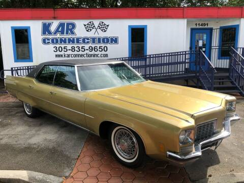 1972 Oldsmobile Ninety-Eight for sale at Kar Connection in Miami FL