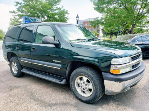 2002 Chevrolet Tahoe for sale at J & M PRECISION AUTOMOTIVE, INC in Fort Collins CO