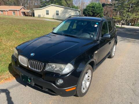 2007 BMW X3 for sale at CAR STOP INC in Duluth GA
