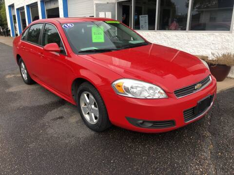 2010 Chevrolet Impala for sale at Budget Auto in Appleton WI