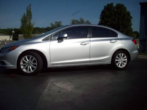 2012 Honda Civic for sale at Whitney Motor CO in Merriam KS
