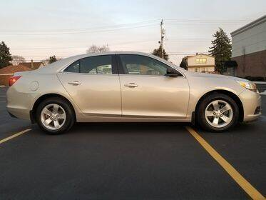 2014 Chevrolet Malibu for sale at Dymix Used Autos & Luxury Cars Inc in Detroit MI