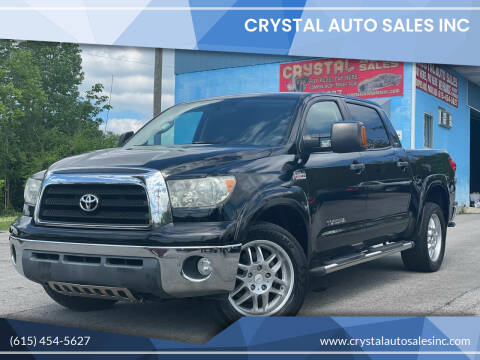 2008 Toyota Tundra for sale at Crystal Auto Sales Inc in Nashville TN