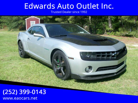 2012 Chevrolet Camaro for sale at Edwards Auto Outlet Inc. in Wilson NC