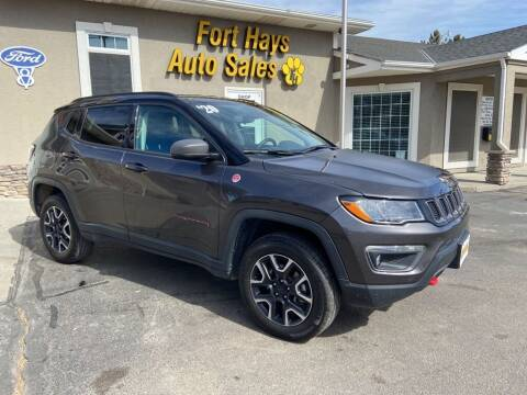 2020 Jeep Compass for sale at Fort Hays Auto Sales in Hays KS