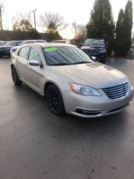 2014 Chrysler 200 for sale at Newcombs Auto Sales in Auburn Hills MI