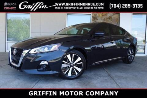 2019 Nissan Altima for sale at Griffin Buick GMC in Monroe NC