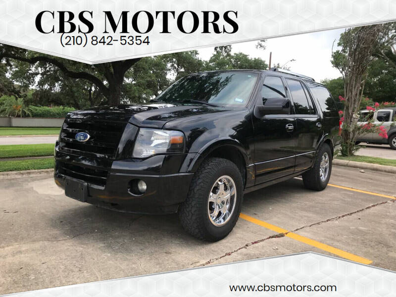 2009 Ford Expedition for sale at CBS MOTORS in San Antonio TX