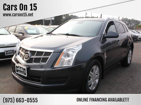 2012 Cadillac SRX for sale at Cars On 15 in Lake Hopatcong NJ