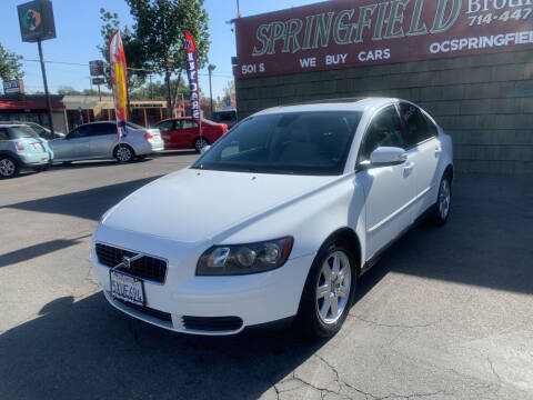2007 Volvo S40 for sale at SPRINGFIELD BROTHERS LLC in Fullerton CA