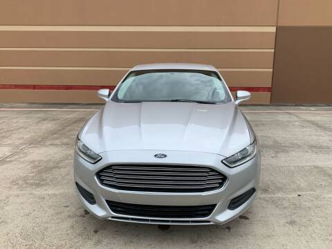 2014 Ford Fusion for sale at ALL STAR MOTORS INC in Houston TX