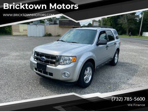 2011 Ford Escape for sale at Bricktown Motors in Brick NJ