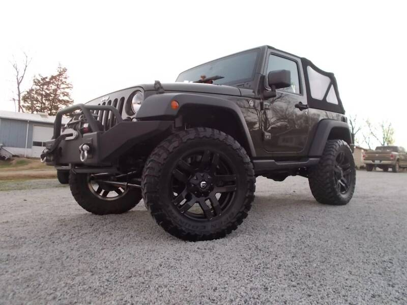 2015 Jeep Wrangler for sale at Carolina Auto Sales in Trinity NC