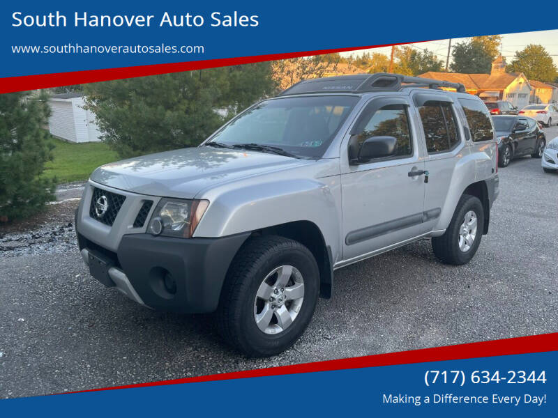 2013 Nissan Xterra for sale at South Hanover Auto Sales in Hanover PA