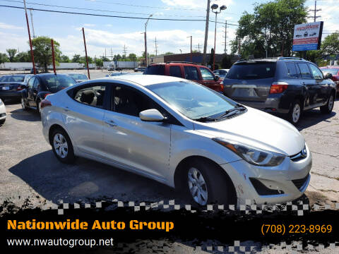 2016 Hyundai Elantra for sale at Nationwide Auto Group in Melrose Park IL