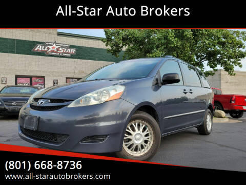 2006 Toyota Sienna for sale at All-Star Auto Brokers in Layton UT