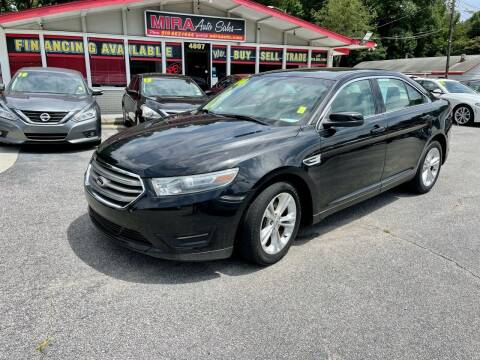2014 Ford Taurus for sale at Mira Auto Sales in Raleigh NC