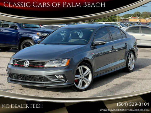 2017 Volkswagen Jetta for sale at Classic Cars of Palm Beach in Jupiter FL