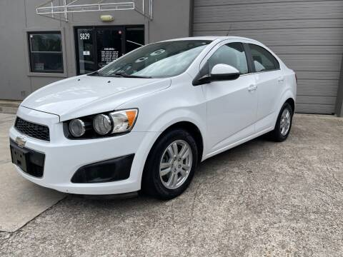 2013 Chevrolet Sonic for sale at PARK PLACE AUTO SALES in Houston TX