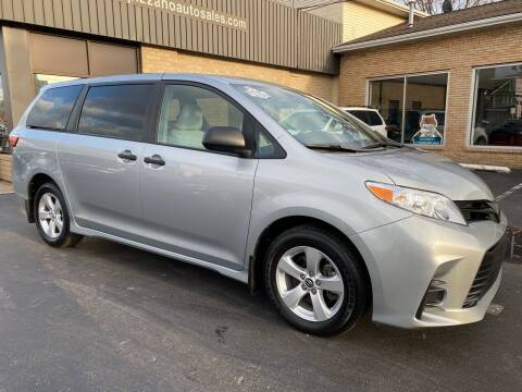 2019 Toyota Sienna for sale at C Pizzano Auto Sales in Wyoming PA