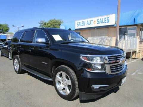 2015 Chevrolet Tahoe for sale at Salem Auto Sales in Sacramento CA
