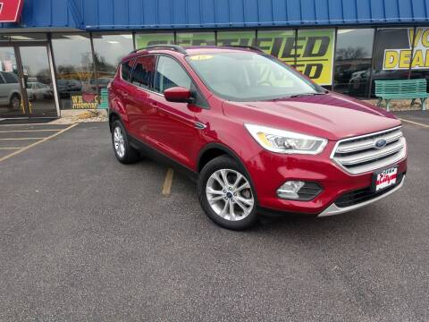 2018 Ford Escape for sale at CITY SELECT MOTORS in Galesburg IL