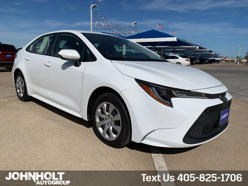2020 Toyota Corolla for sale at JOHN HOLT AUTO GROUP, INC. in Chickasha OK
