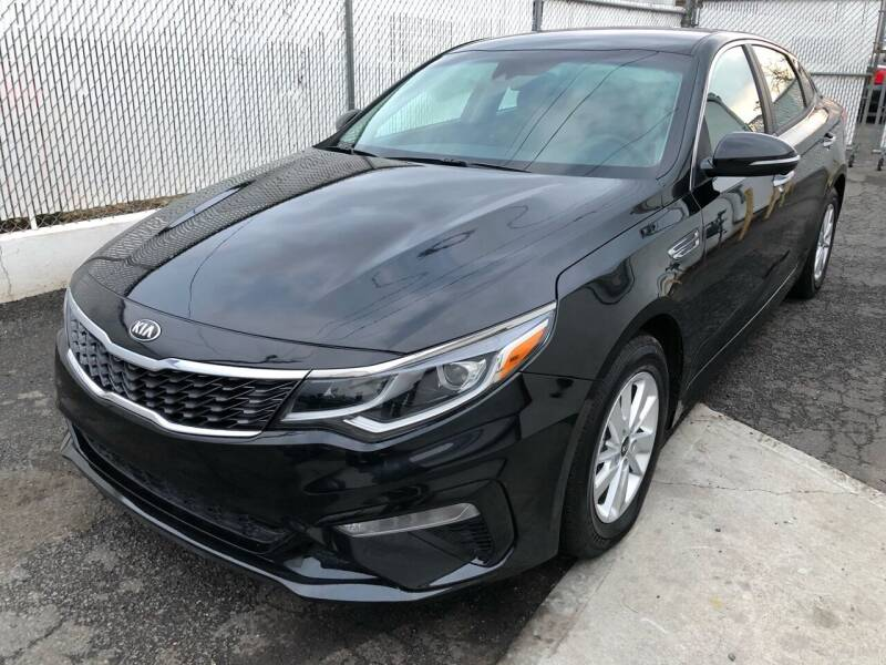 2019 Kia Optima for sale at Pinnacle Automotive Group in Roselle NJ